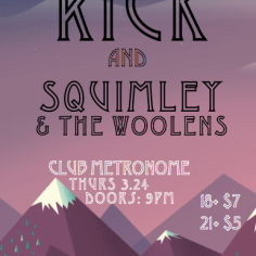 docrick _ squimley at metronome 3_24_16 poster
