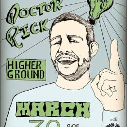 doctor rick higher ground 3_30_17 poster