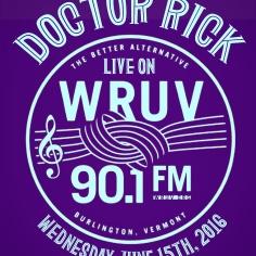 doctor rick on wruv album cover